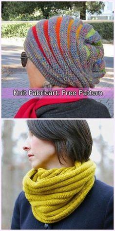 Knit Wurm Slouchy Beanie Hat Free Pattern