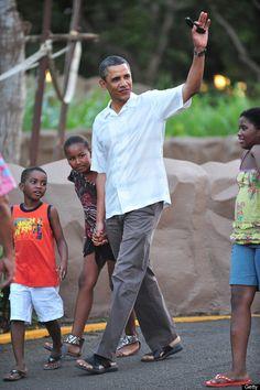 Pé de Chinelo: O Chinelo Presidencial do Obama