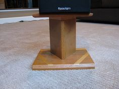 Let's see your home made speaker stands, I'm going to build some. - AudioKarma.org Home Audio Stereo Discussion Forums
