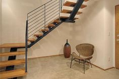 escalera moderna metalica - Buscar con Google
