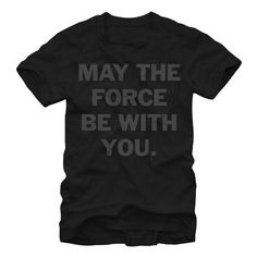 New product alert Star Wars May the... find it here http://shop.boroughkings.com/products/star-wars-may-the-force-t-shirt?utm_campaign=social_autopilot&utm_source=pin&utm_medium=pin