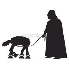 Darth Vader Walking ATAT