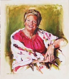 Erica | Esther van Tilburg - portretschilder