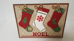 Stampin Up Hang Your Stocking die cuts