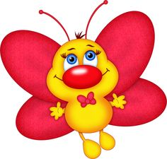 ‿✿⁀ red,yellow butterfly ‿✿⁀