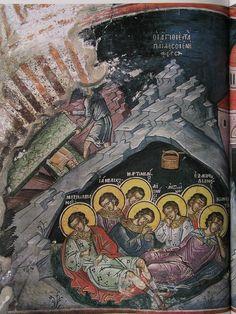 375 Byzantine Art, Fresco, Book Art, Ministry, Poster, Painting, Saints, Calligraphy, Life