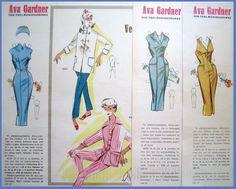Påklædningsdukker, nisser og engle