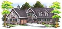Luxury Style House Plans - 14736 Square Foot Home , 2 Story, 9 Bedroom and 8 Bath, 10 Garage Stalls by Monster House Plans - Plan 63-266