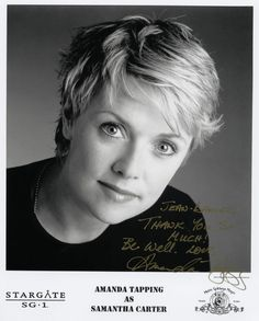 Gorgeous Amanda Tapping from Stargate SG-1
