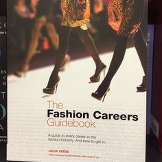 This is a great book on careers in #textiles - includes non fashion despite the book title   Flickr - julieboydonline www.julieboyd.co.uk Free resources for D&T teachers and students