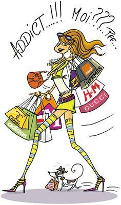 Frédérique Vayssières, illustratrice, agence Marie Bastille // cette image appartient à son auteur et/ou l'agence Marie Bastille + d'infos sur le site //  Shopping addict!!