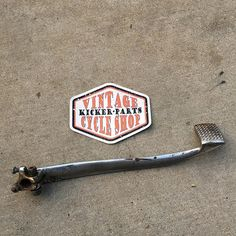 OEM chrome Sportster / Ironhead brake pedal. Nice condition! $25 + $5 shipping. DM or (928) 899-9780. #kickerparts #sissybarsrule #thechopmeet #chopperswapper #chopperparts #harleyparts #choppershit #knucklehead #panhead #shovelhead #ironhead @chopperswapper