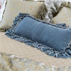 Bella Notte Loulah Shams and Pillows sold at purplerosehome.com - wonder about color selection, price, if come in king size??