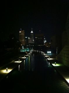Indianapolis... The canal.
