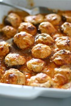 Oh no.. I was looking for stuffed mushroom recipes and found these...Enchilada Stuffed Mushrooms