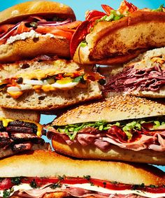 A List of the Ten Most Iconic New York Sandwiches. You're welcome.