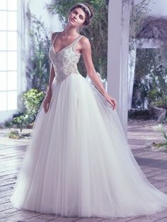 Wedding Dress Photos - Find the perfect wedding dress pictures and wedding gown photos at WeddingWire. Browse through thousands of photos of wedding dresses. Wedding Dresses Photos, Bridal Wedding Dresses, Ball Dresses, Ball Gowns, Sheath Dresses, Gown Gallery, Bridal Dresses Online, Unconventional Wedding Dress, Maggie Sottero Wedding Dresses