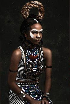 """Lone Wolf"" Elegant Magazine Editorial //  Photographer: Chris Evans //  Model: Asia Alvarez //  Make-Up: Alia Cooper // Hair: Corrine Clarissa // Fashion Editor: Marcus Aaron // Designers: The Cotrice Collection,  Neon Fleur , Luxor Couture"