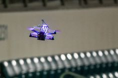 Electrifying Drone Race Tests Pilots' Sky-High Skills http://www.livescience.com/53885-drone-racing-league-semifinals.html