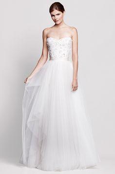 0439427c407 dress inspiration Reem Acra s Lower-Price Bridal Collection Hochzeitskleider