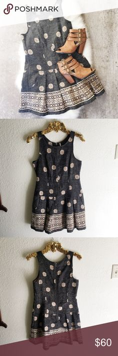 Free People Drop Waist Dress Gorgeous free people dress! Pleated drop waist with pockets! Excellent condition. No flaws. Size 2. Free People Dresses Mini