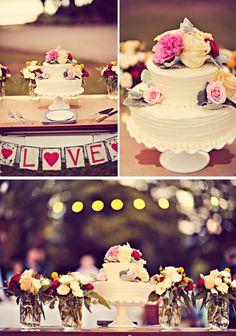 love the simplicity.   #eatmorecake