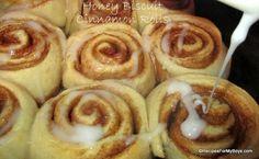 Honey Biscuit Cinnamon Rolls