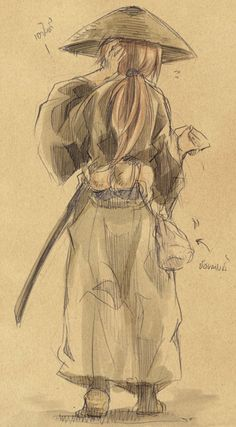 Rurouni Kenshin, the way Kenshin is dedicated to helping others and bettering himself is very inspirational.