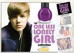 Justin Bieber and OPI Nail Polish