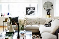 This Photographer's Home Gets Everything Right // Nicole Cohen // neutral palette, inviting textures & plenty of metallics