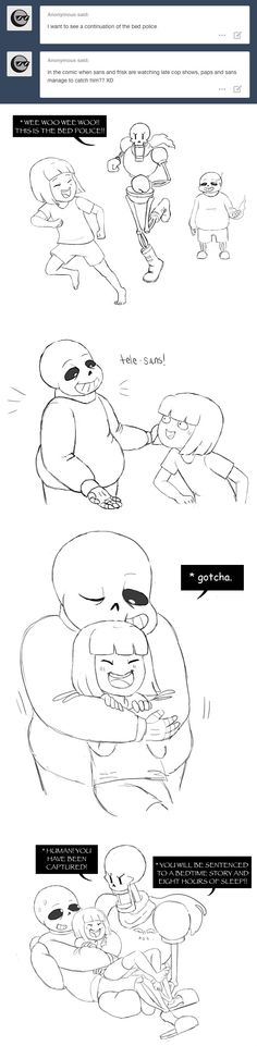 Frisk, Sans, and Papyrus - comic - http://ohheyimpaola.tumblr.com/post/132973821455/ask-and-thou-shall-receive-comic