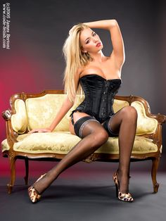 Girls In High Heels And Stockings