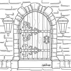 The #sneakpeek for the next Gift of The Day tomorrow. Do you like this one? #Old #Door ********** Don't forget to check it out tomorrow and show us your creative ideas, color with Color Therapy: http://www.apple.co/1Mgt7E5 ********** #happycoloring #giftoftheday #gotd #colortherapyapp #coloring #adultcoloringbook #adultcolouringbook #colorfy #colorfyapp #recolor #recolorapp #coloringmasterpiece #coloringbook #coloringforadults #pigmentapp #sandbox