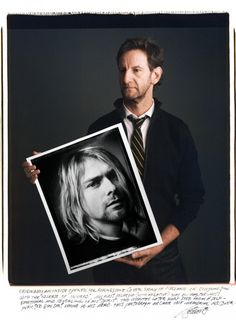 "Famous Photographers And Their Most Iconic Images | Photographer: Mark Seliger - ""Originally an inside opener for Rolling Stone cover story of Nirvana in conjunction with the release of In Utero, my first Polaroid (with Negative) was by far the most emotional and revealing of his spirit. Two months later Kurt died from a self-inflicted gunshot wound to his head. This photograph became the memorial RS cover."""