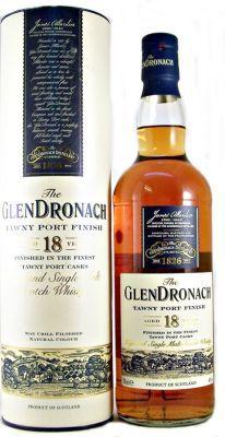 Glendronach Scotch Whisky 18 year old Tawny Port 46% 70cl