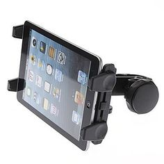Hello2C Car Headrest Mount Holder for GPS Tablet Pc Ipad Mini Ipad 4 / Ipad 3 / Ipad 2 Galaxy Tab Note Ebook Reader Asus, Samsung, Lenovo, Dell, Acer, HP, LG, Toshiba, Google Nexus, Archos Tablets Black. Designed for 5-11 inch tablet with or without a case. Spring-loaded universal tablet holder/cradle will keep your device in place even on bumpy roads. Headrest Tablet Kit is a safe and secure mounting solution for tablets inside your vehicle.Headrest mount can be positioned between the...