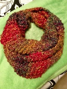 Made It: Knitted Infinity Scarf