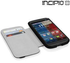 Motorola Moto X Incipio Watson Folio Wallet Case with Removable Cover