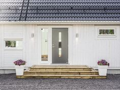 Pergola Patio, Backyard, Outdoor Lighting, Outdoor Decor, Decks And Porches, Exterior Colors, Front Porch, My House, Sidewalk
