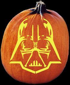 top pumpkin carving patterns | Star Wars Pumpkin Stencils: