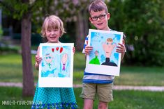 hello, Wonderful - 10 ARTISTIC FATHER'S DAY GIFTS KIDS CAN MAKE