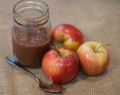 Small Batch Spiced Maple Apple Butter Recipe | Homemade for Elle