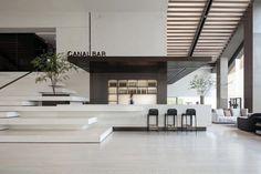 Commercial Interior Design, Commercial Interiors, Modern Interior Design, Lobby Interior, Interior Architecture, Lounge Design, Lounge Decor, Corporate Interiors, Lobby Design