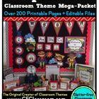 This classroom theme bundle is jam-packed with 34 different products to help you create a beautifully coordinated learning environment for one low ...