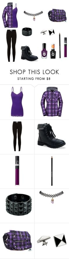 """""""I'm thinking..... PURPLE!"""" by donna-bender ❤ liked on Polyvore featuring Bozzolo, Volcom, Aéropostale, Sally Hansen, NARS Cosmetics, Lancôme, Wet Seal and Delfina Delettrez"""