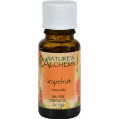 Natures Alchemy 100% Pure Essential Oil Grapefruit - 0.5 fl oz - Natures Alchemy 100% Pure Essential Oil Grapefruit Description: Natures Alchemy 100% Essential Oil in Grapefruit (Citrus paradisi ) Natures Alchemy are 100% natural essential oils are meticulously extracted from plants by cold pressing or steam distillation. Natures Alchemy high-quality botanical oils are perfect for aromatherapy, baths, room fragrancing, personal fragrance, potpourri, massage oil fragrancing or anywhere you…