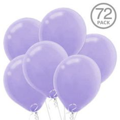 Check out Lavender Latex Balloons   Purple Decorations tableware & décor for your party from Birthday in a Box from Birthday In A Box