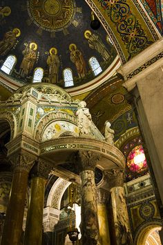 Cathedral Basilica of St. Louis Missouri by Wheat State Traveler via flickr