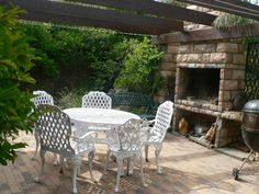 Braai Area Fire Pits, Fireplaces, Projects To Try, House Ideas, Outdoors, Gardening, Patio, Future, Outdoor Decor