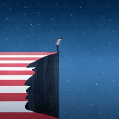 U.S. Presidential Election 2016 ©Benedetto Cristofani, all right reserved #electionday #donaldtrump #vote #unitedstates #presidentialelection #whitehouse #illustration #editorial #editorialillustration #conceptual #conceptualillustration #graphic #graphicdesign www.benedettocristofani.net